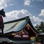 At the Fushimi Inari Shrine