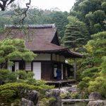 At the Ginkaku-ji Temple