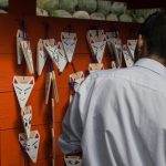 Ema plaques at Fushimi Inari Shrine