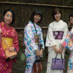 Girls in Arashiyama