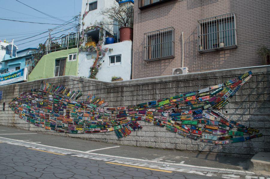 Art in Gamcheon Culture Village