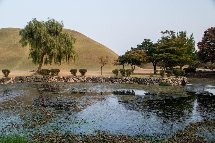 Royal Tombs in Gyeongju