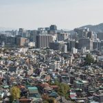 A view of Seoul from Inwangsan