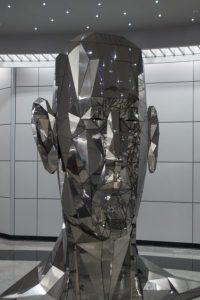 Art at the subway station