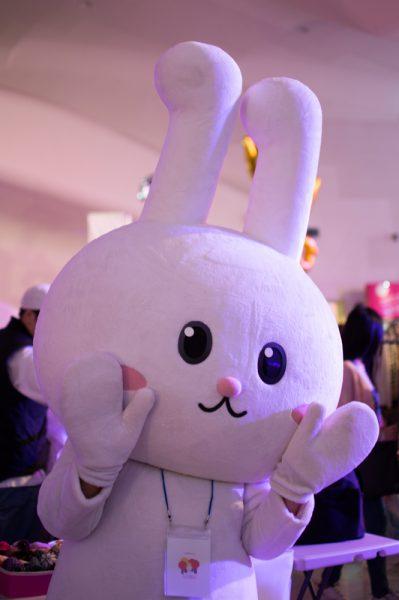 Bunny at the flea market