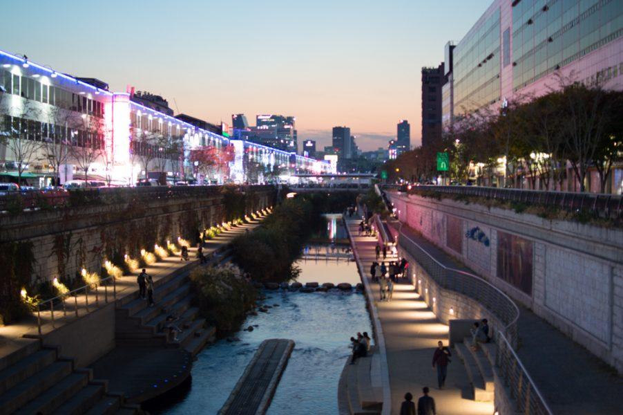 The Cheonggye Stream