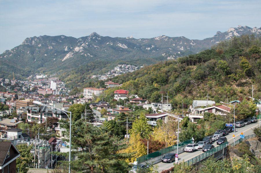 Hiking in Seoul