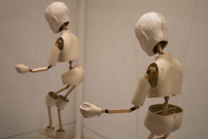 Sculpture installation by Vibskov