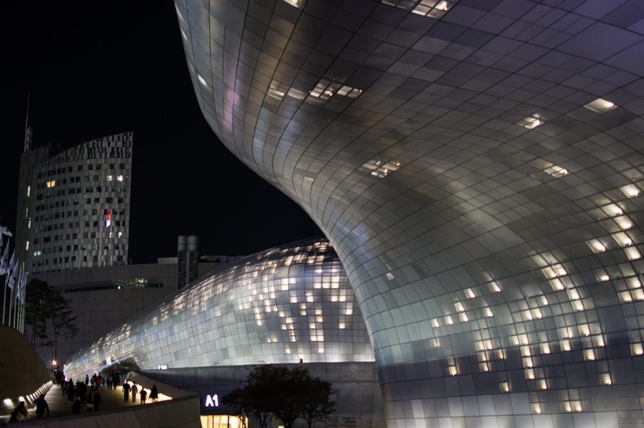 The Dongdaemun Design Plaza