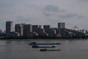 Huangpu River in Shanghai