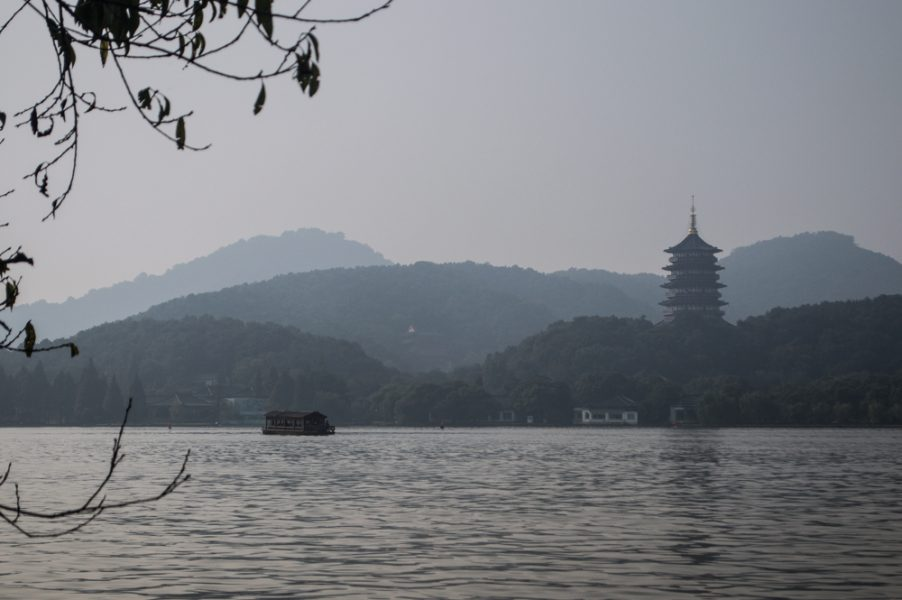 West Lake and Leifeng Pagoda