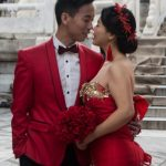 Wedding photoshoot at the Temple of Heaven