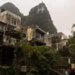 Buildings in Yangshuo