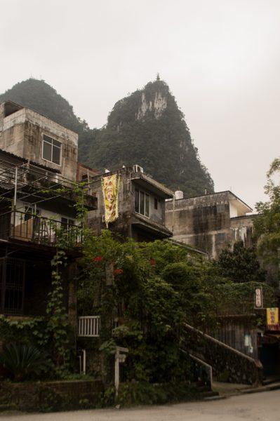 Buildings in Yangshuo