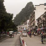 Pantao Road in Yangshuo