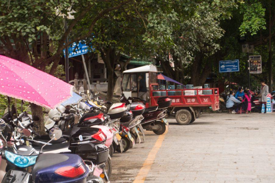 Street life in Yangshuo