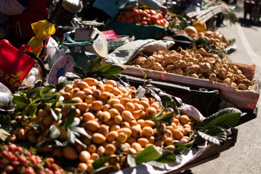 Fruits at Zhongyi Market