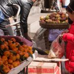 Girl shopping at Zhongyi Market