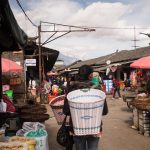 Shopping at Zhongyi Market