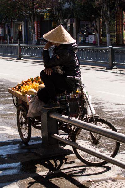 Street vendor in Lijiang