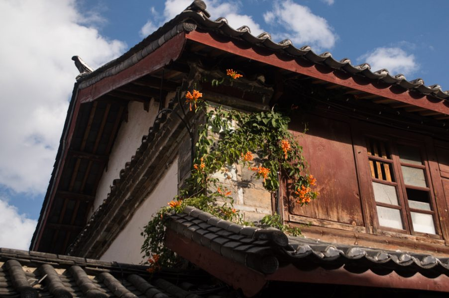 Traditional architecture at Lijiang Old Town