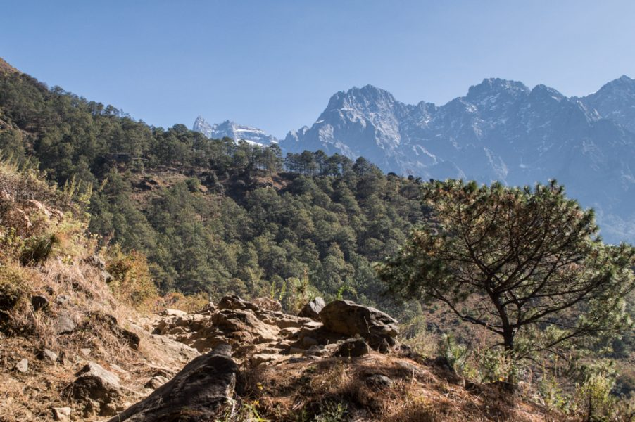 Tiger Leaping Gorge trail