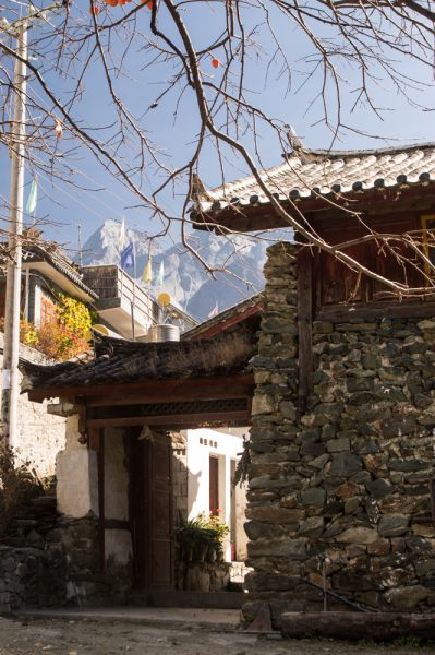 Village in the Tiger Leaping Gorge