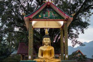 Temple in Vang Vieng