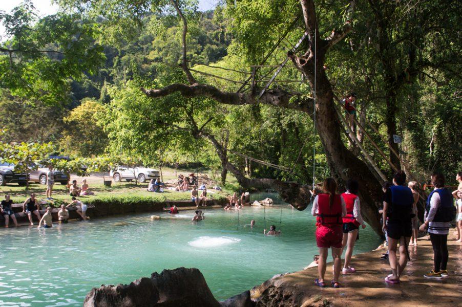 Tham Poukham – Blue Lagoon