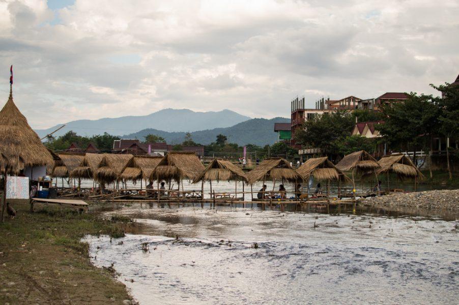 Vang Vieng river bar