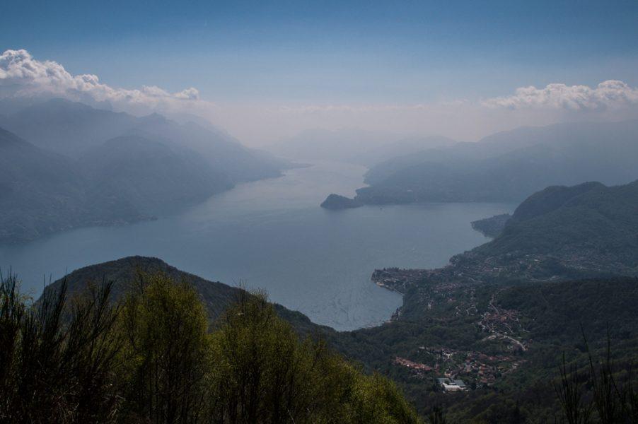 A view from Rifugio Menaggio