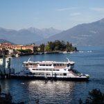 Ferry leaving Menaggio