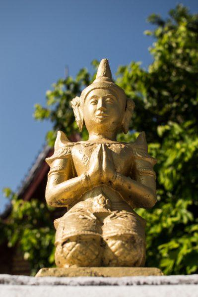 Buddhist statue Luang Prabang