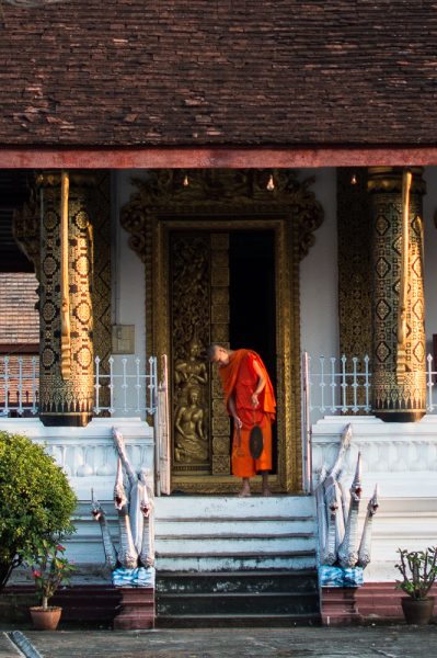 Praying time at Wat That