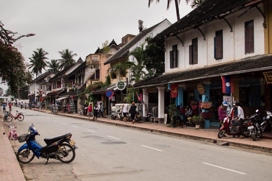 Sakkaline Road in Luang Prabang