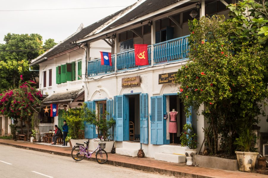 Shops on Sakkaline Road in Luang Prabang