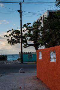 By the beach in Varadero