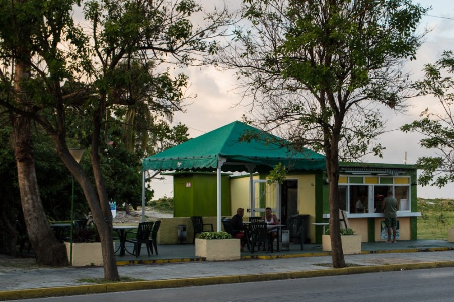One of the bars in Varadero