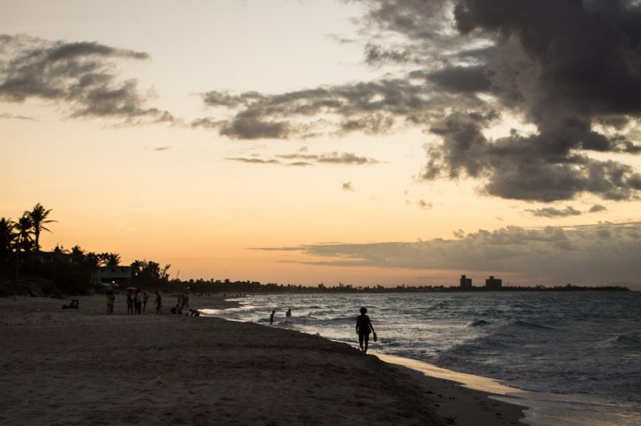 Sunset in Varadero