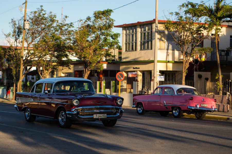 Taxis in Varadero