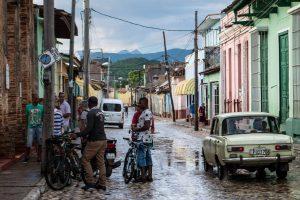 Local men in Trinidad