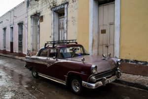Old taxi