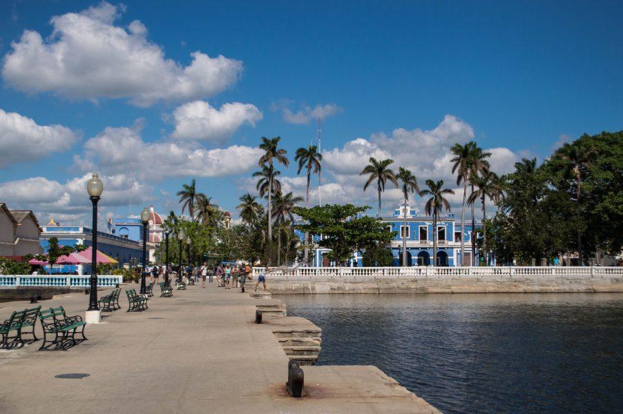 A port in Cienfuegos