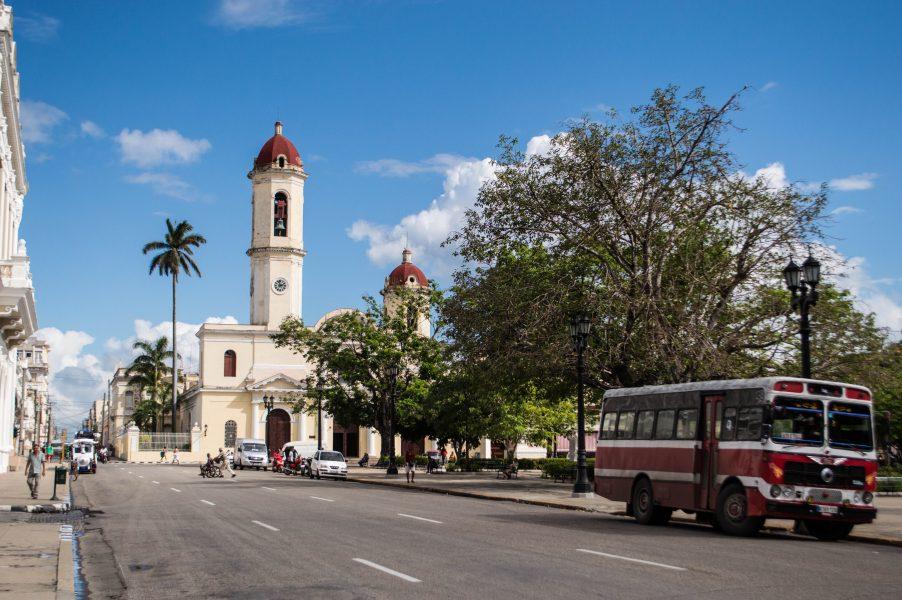 Cathedral in Cienfuegos