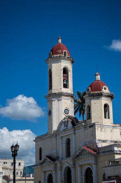 Cathedral of Cienfuegos and Medici Lions