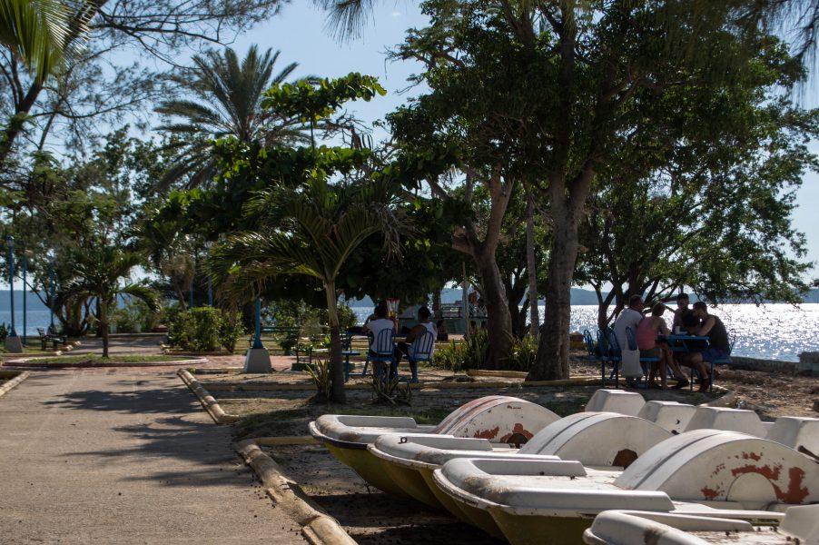 Locals at Punta Gorda