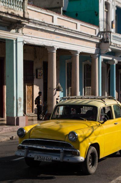 Old car in Cienfuegos