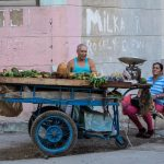 Street sellers in Havana Vieja