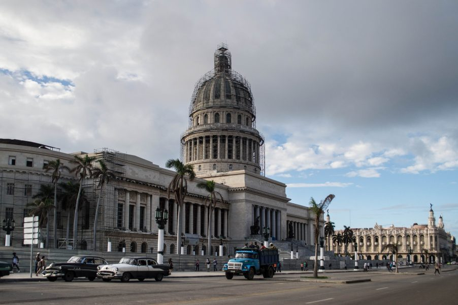 The Capitol Building in Havana